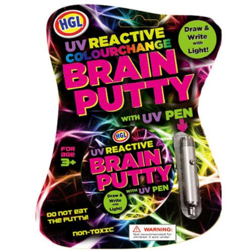 UV Brain Putty with UV Pen Toy